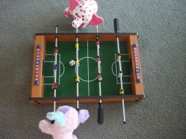 Foosball Game by CatLover924