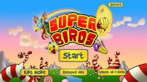 Super Birds Main Menu by floopate