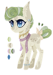 Martini Theme Pony Adoptable [OPEN] by xSeamair