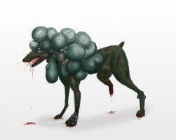 Infected Dog by metalik-fairy