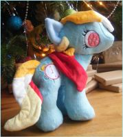 Custom My Little Pony Plush Bright Eyes by eponyart