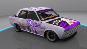 No Game No Life Datsun 510 by skytire