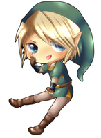 Chibi Link - BEUuuuH by linkinounet62