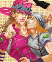 Steel Ball Run main characters by noax13