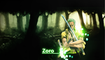 Zoro Wallpaper by JoshPattenDesigns