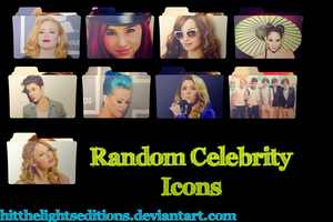 Random Celebrity Desktop Icons by HitTheLightsEditions