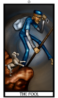 Deck of the Dreamers: The Fool by RingmasterBent