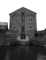 Old building on the canal by Paul-Madden