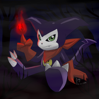 Impmon by amyrose7