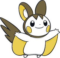 Shiny Emolga Global Link Art by TrainerParshen