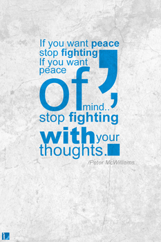 Peace Typo by A7mdo92