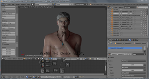 :: VERGIL THE ORDER W.I.P. :: by VincentXyooj