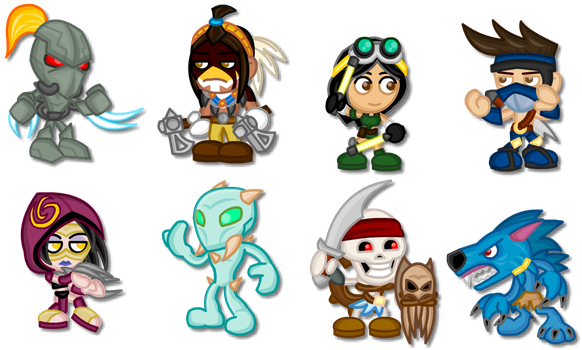Chibi Killer Instinct: Season 1 by LegendaryFrog
