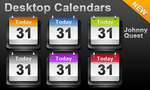 Desktop Calendar icon by jquest68