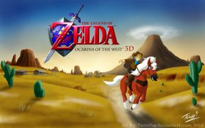 The Legend of Zelda: Ocarina of the West by TarriPup