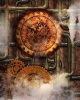 Steampunk Background 3 by Elle-Arden