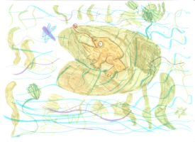 Frog by Toad-x-Yoshi-x-Peach