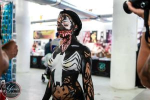 Venom Cosplay - 6 by GhostXS