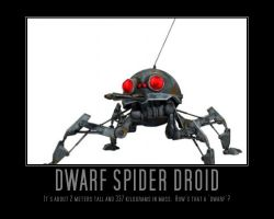 Star Wars The Clone Wars Dwarf Spider Droid by Onikage108