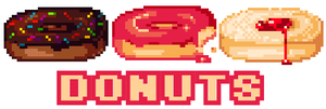 Pixel Donuts + Walkthrough by twin-tail
