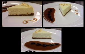 Cheese Cake Plate presentaion by megami195