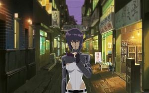 Motoko Kusanagi GITS:SAC 04 by GameBoxIcons