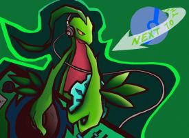 DJ GROVYLE by Pretty-UNCHI