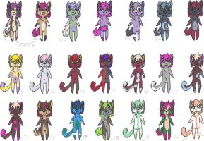 Tiny adopts pack 02 by lfraysse