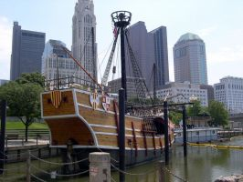 Columbus - Old and New by dhunley