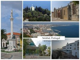 Postcard - Setubal, Portugal by jpgmn