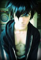 Quick Male!Black Rock Shooter by freetarded