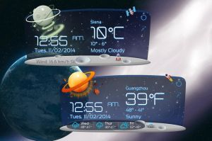 Unknown Planet Style HD for xwidget by jimking