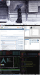Wmfs-BluesRed Arch Linux by Deckon