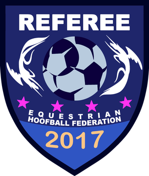 EQHF Referee Badge (2017 Night Ver.) by RedCard94