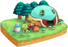 Pokemon Mystery Dungeon - Turtles Edition by PenguinAttackStudios