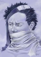 B-day Zabuza portrait by canalicula