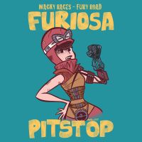 Wacky Races - Fury Road: Furiosa Pitstop by albonet