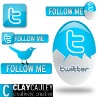 5 Sweet Tweet Vectors by claycauleyinc