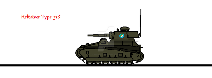 Heltsiver Type 31B by thesketchydude13