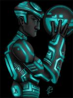 Tron Warrior by greensauceboy