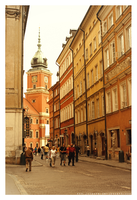 Warsaw's Old Town by Julanna