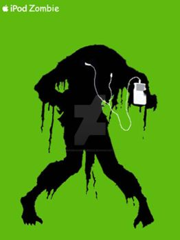 iPod Zombie by ThePorkchopExpress