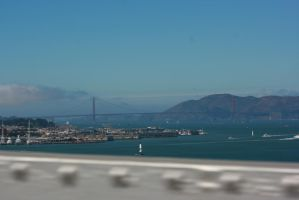Golden Gate as seen from the new Bay Bridge by Dr-J-Zoidberg