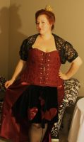Queen of Hearts Costume by earthly-delight