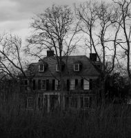 Creepy House by emwinch