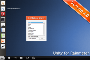 Unity for Rainmeter V2.0 OLD by hello-123456