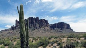The Superstition Mountains 4581 by SelketSky