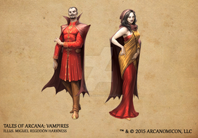 Tales of Arcana 1st Set - Vampires by TalesofArcanaRPG