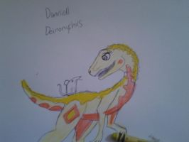 Danniell Deinonychus by MK-THE-RAPTOR