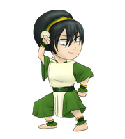 Chibi Toph by Dreamfollower